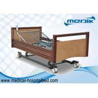 Buy cheap Custom Electric Nursing Home Beds Side Rails In Full Length Protection from wholesalers