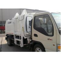 Buy cheap Hydraulic System Special Purpose Vehicles Side Loader Garbage Truck from wholesalers