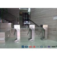 Buy cheap Vertical Tripod Access Control Turnstiles Semi - Auto Compact For Outdoor product