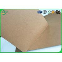 Buy cheap Brown Kraft Liner Paper Board 80gsm - 350gsm Stretching Resistance For Cement Bag Paper from wholesalers
