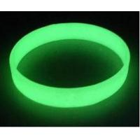 Buy cheap glow in the dark silicone  bracelet wristbands , Luminous silicone bracelets in the dark from wholesalers