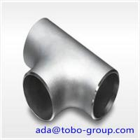 Buy cheap 1-48 inch SCH10-XXS A403 WP321 Stainless Steel Pipe Tee ISO9001 / ISO9000 from wholesalers