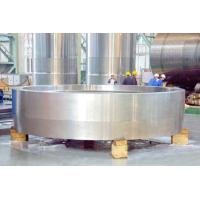Buy cheap Large S355+N Forged Steel Rings Heat Treatment Forging 1000mm Thickness 250 Ton from wholesalers