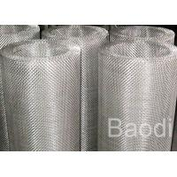 Buy cheap Insect Net Fine Stainless Steel Mesh 1m X 30m , Woven Wire Cloth Heat Resistant from wholesalers