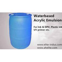 Buy cheap Acrylic Emulsion water based grade Translucent milky white MOQ 2400kgs from wholesalers