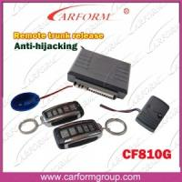 Buy cheap Auto Accessories Electronics Anti-hijacking Auto Alarms Systems 810G Remote Trunk Release from wholesalers