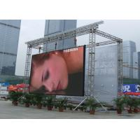 Buy cheap P10 Outdoor High Brightness Rental LED Display Screen High definition Great waterproof product
