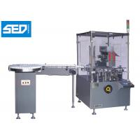 Buy cheap 220V 50HZ Type Automatic Cartoning Machine With Bottle Turn Table from wholesalers