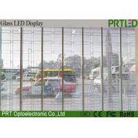Buy cheap Epistar SMD3528 Transparent Glass LED Display P10 Anti-UV Transparent LED Panel from wholesalers