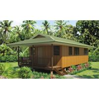 Buy cheap Cyclone proof, Australian Standard Light Steel Framing Wooden Bungalow from wholesalers