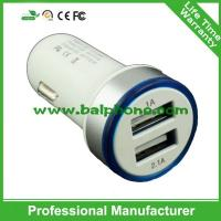 Buy cheap 3.1A double mini usb car charger product