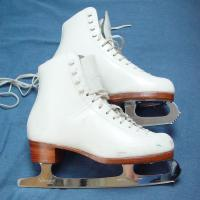 Buy cheap Custom Strong Roller Skates Blades / Stainless Steel Ice Skate Blades from wholesalers