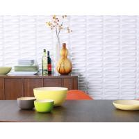 Buy cheap Thermoform Composite PVC Wall Stencil 3D Wallpaper for Living Room / Office / Club from wholesalers