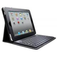 Buy cheap OEM Spill - proof apple , ipad1 , Ipad 2 Leather Bluetooth Keyboard Case with Solar Panel from wholesalers