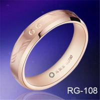 Buy cheap Hot sales hand engraving&rose gold plated TUNGSTEN WEDDING RINGS fashion mens rings wedding bands from wholesalers