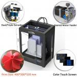 Buy cheap CreatBot DE Plus Multi Color 3d Printer Automatic Grade 400*300*520 Mm Dimension from wholesalers