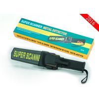 Stock Handheld Metal Detector Wand , Super Scanner Metal Detector Waterproof