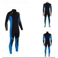 Buy cheap 3mm CR Neoprene Diving Suit for Men Water Sports , Smooth Skin from wholesalers