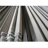 Buy cheap ASTM 304 Stainless Steel Angle Bars With Polished, Peeled Surface For Petroleum, Chemical Industry from wholesalers