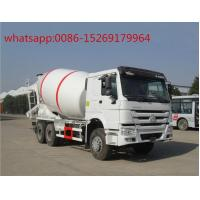 Buy cheap SINOTRUK HOWO 336hp 6x4 8m3 concrete mixer truck from wholesalers
