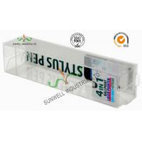 Buy cheap Electronics Ballpoint Plastic Packaging Boxes , Clear Plastic Display Boxes from wholesalers