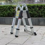 Buy cheap EN131 Aluminium Folding Step Ladder Telescopic double side single side ladder from wholesalers