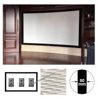 Buy cheap xy screen 150 16:9 indoor fixed frame projection screen acoustic transparent screen Sound Max4K from wholesalers