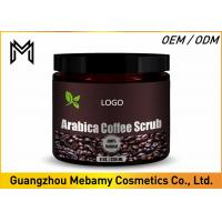 Buy cheap Dead Sea Salt Skin Care Body Scrub , Coffee Exfoliating Cream Body Scrub Mosturizied product
