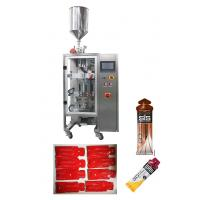China High Speed Automted Vertical Liquid Packing Machine For Chocolatge Jam / Ketchup / Jelly candy on sale