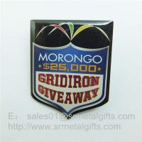 Buy cheap Epoxy Offset Print steel Lapel pins, custom offset print pin badge with epoxy coat from wholesalers