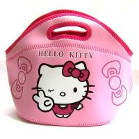 Buy cheap Hello Kitty Printed Reusable Insulated Lunch Bags , Kids Neoprene Cooler Bag from wholesalers