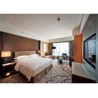 High Grade King Size Luxury Hotel Bedroom Furniture With Modern Platform Bed