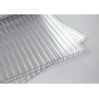 Buy cheap Eave Unbreakable Twin Wall Polycarbonate Panels With Co - Extrusion Technology from wholesalers