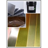 Quality Roller Coating Water Based Orange Paste To Make Gold Card Paper High Efficient for sale