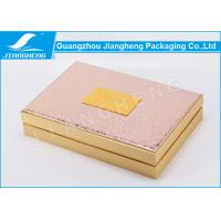 Buy cheap Beautiful Cosmetic Packaging Boxes , Hot Stamping Paper Cardboard Gift Boxes from wholesalers