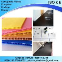 Buy cheap White and Black Coreflute Sheet for Floor Protection from wholesalers