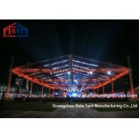 Large Series Aluminum Light Truss , Curved Studio Lighting Truss Corrosion Resistant