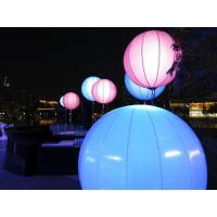 Buy cheap Dual Color White Led Light Up Balloons With DMX Events Decoration Use from wholesalers