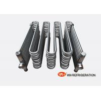 Buy cheap Refrigeration Immersion Coil Heat Exchanger , Seawater Cooled Condenser Coil from wholesalers