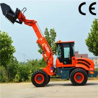Buy cheap Weichai Engine 1.8T Mini Wheel Loader ZL918 Construction Equipment product