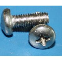 Buy cheap SUS321 screw 1.4547 TP321 slotted round head screw from wholesalers