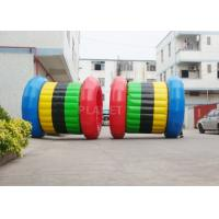 Buy cheap Interesting Inflatable Water Games Hamster Roller Wheel 2 Years Warranty from wholesalers