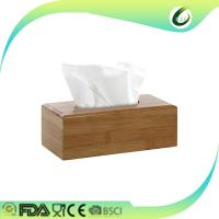 Buy cheap bamboo napkin holder tissue box cover restaurants coffee hotels from wholesalers