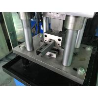 Buy cheap 1.0 - 1.6mm Guardrail Roll Forming Machine 14 stations By Chain product