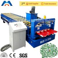 Buy cheap Corrugated Sheet Metal Roofing Roll Forming Machine Computer Control from wholesalers