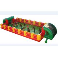 Buy cheap Inflatable human foosball game for sale football game from wholesalers