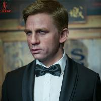 Buy cheap Realistic Human Lifesize Wax Sculpture Figure for James Bond from wholesalers
