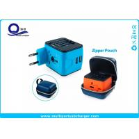 Buy cheap Rubber Oil Painting Wifi Plug Socket USB Travel Adapter With Zipper Pouch Bag from wholesalers
