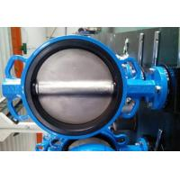 Buy cheap PTFE Lined Centric Butterfly Valve Self Lubricated Shaft Bear ATEX Wafer Type Butterfly Valve from wholesalers