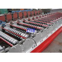 Buy cheap 1250MM Width Glazed Roofing Corrugated Sheet Roll Forming Machine Low Noise product